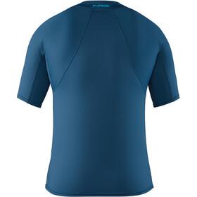 NRS H2Core Rashguard Camiseta manga corta Hombre, moroccan blue